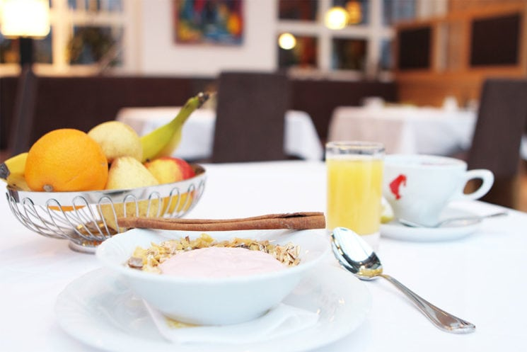 Frühstücksbuffet im Hotel Zirngast, Schladming