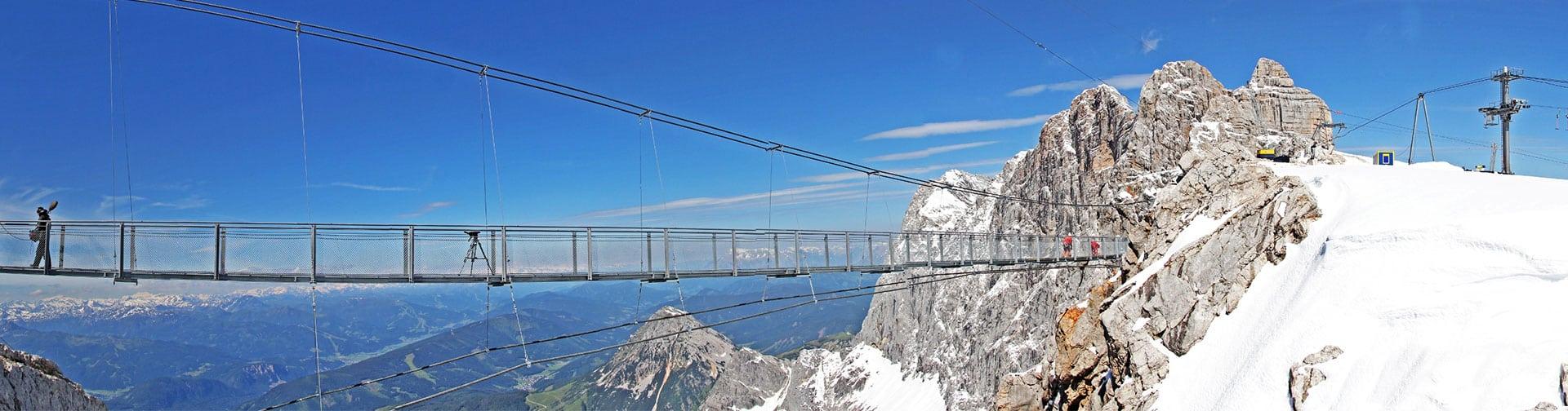 Hängebrücke - Dachstein-Gletscher