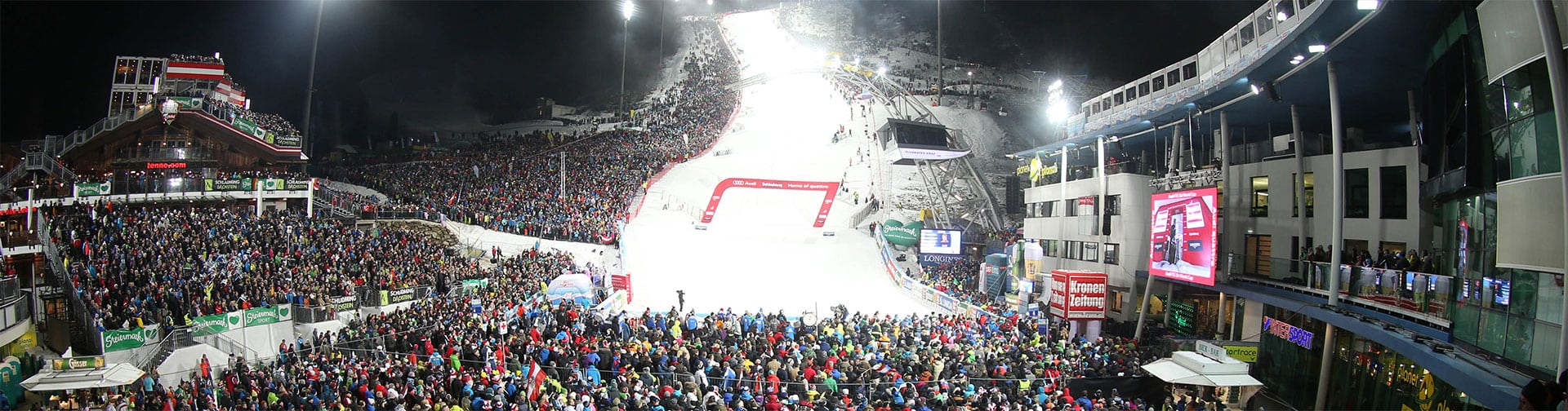 The Nightrace in Schladming, Planai