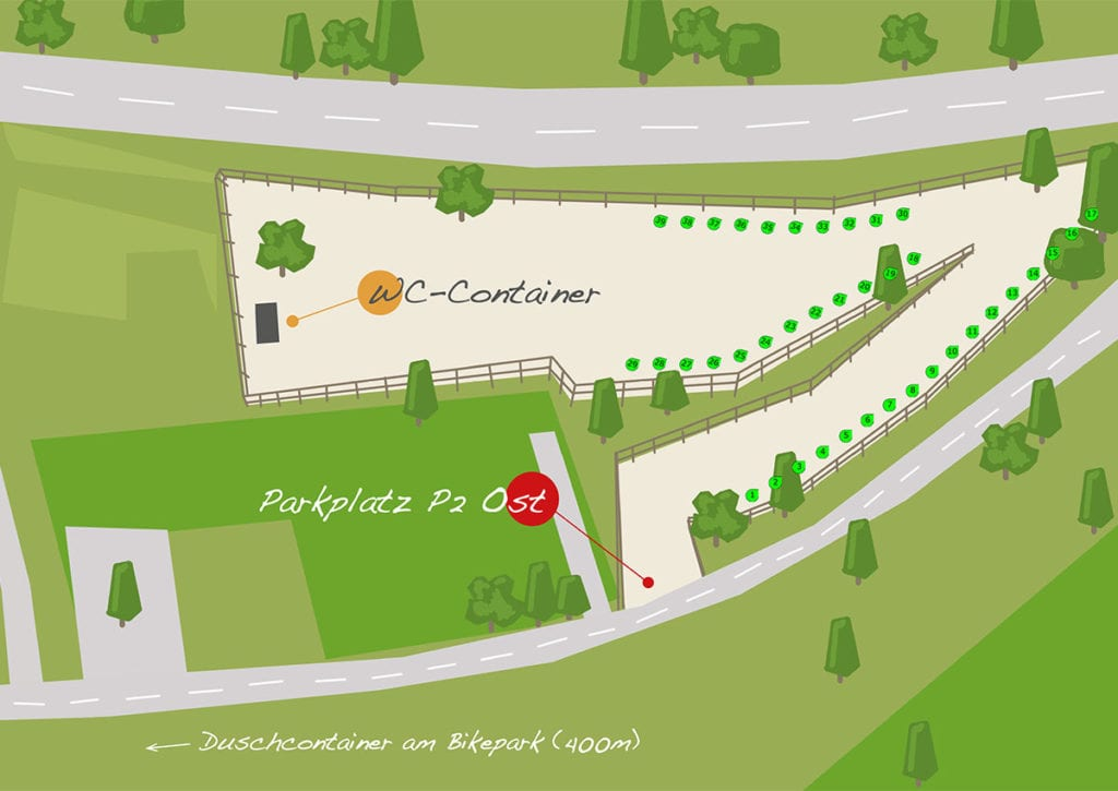 Parkplatz Zirngast - P2 Ost