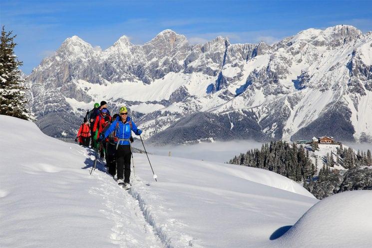 Skitouren - Winterurlaub in der Region Schladming-Dachstein