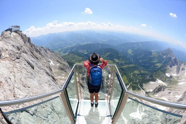 Dachstein-Gletscher, Urlaubsregion Schladming-Dachstein