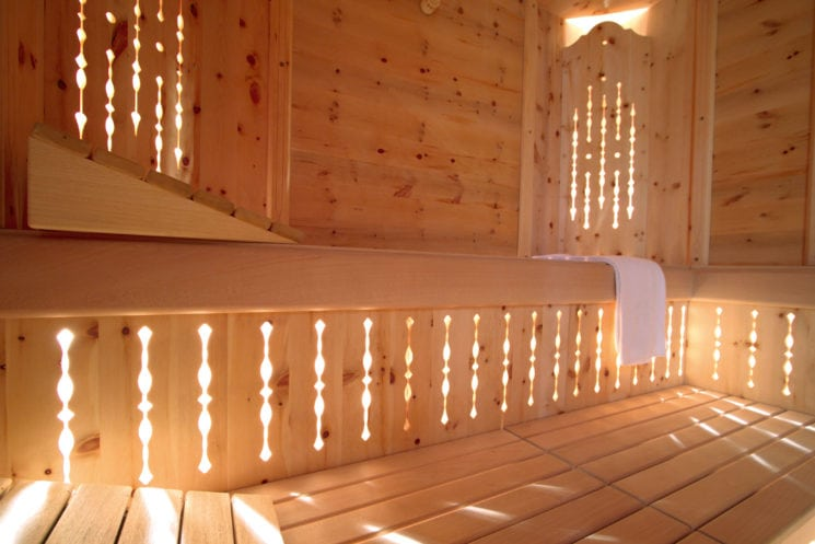 Wellnesslandschaft im Hotel Zirngast in Schladming