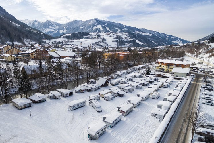 Wintercamping - Campingplatz in Schladming
